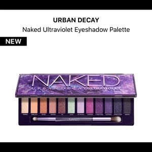 Naked Urban Decay Ultraviolet eyeshadow palette